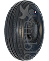 10 x 3 in. (3.00-4) Primo Spirit Wheelchair / Scooter Tire - Shown in non marking black