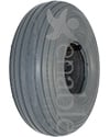 10 x 3 in. (3.00-4) Primo Spirit Wheelchair / Scooter Tire - Shown in non marking gray