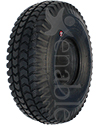 10 x 3 in. (3.00-4) Primo Powertrax Wheelchair / Scooter Tire - Shown in non marking black