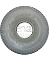 12 x 3.00-4 Primo Powertrax Wheelchair Tire - Side view shown