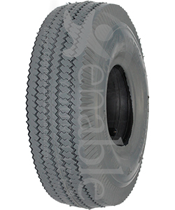 4.10 x 350-4 Power Edge Sawtooth Wheelchair / Scooter Tire