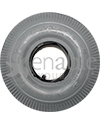 4.10 x 350-4 Power Edge Sawtooth Wheelchair / Scooter Tire - Side view shown