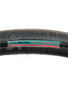 24 x 1 3/8 in. (37-540) Primo X-Treme Wheelchair Tire - Close-up