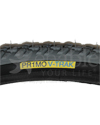 24 x 1 3/8 in. (37-540) Primo V-Trak Knobby Wheelchair Tire - Up Close