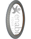 24 x 1.95 in. (50-507) Primo Knobby Wheelchair Tire