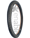 25 x 1.95 in. (1.95-559) Primo/CST Aggressive Knobby Wheelchair Tire