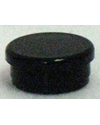 Quickie Style Caster Housing Cap - Black
