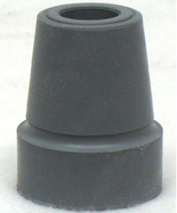 Gray Crutch / Utility Tip - Fits 1 in. Tube