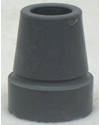 Gray Crutch / Utility Tip - Fits 3/4 in. Tube
