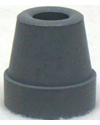 Gray Crutch / Utility Tip - Fits 1/2 in. Tube