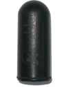 E&J Type Round Rubber Tip for Wheel Lock Extension - Black