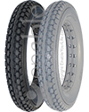 12 1/2 x 2 1/4 in. (62-203) Urethane Knobby Wheelchair Tire - Available in light or dark gray!