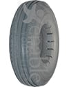 9 x 2 3/4 in. (280/250-4) Urethane 4 Rib Wheelchair / Scooter Tire