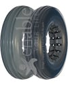 8 x 2 in. (200 x 50) Multi Rib Urethane Wheelchair Tire
