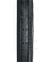 20 x 1 3/8 in. (37-451) Primo Express Urethane Wheelchair Tire - Tread close-up shown