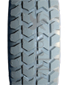 3.00-8 (14 x 3 in.) Knobby Urethane Wheelchair Tire - Tread pattern close-up