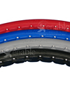 24 x 1 in. (25-540) Shox Urethane Wheelchair Tire - Available colors shown