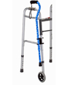 Nova Cane Holder - Shown mounted on a walker