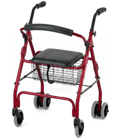 nova cruiser classic 6 wheel rolling walker