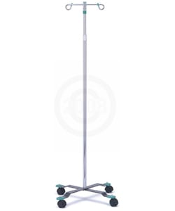 Nova 2 Hook IV Stand with Swivel Castors