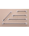 Nova Wall Grab Bars With Chrome Finish