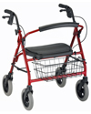 Nova Mini Mack Heavy Duty Rolling Walker with 400 lb Capacity