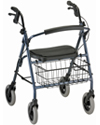Nova Mack Heavy Duty Rolling Walker with 400 lb Capacity
