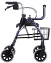 Nova Mighty Mack Heavy Duty Rolling Walker with 600 lb Capacity - Side view shown