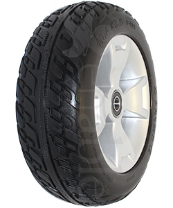 10.4 x 3.6 in. Primo Front Wheel For The Pride Victory 10 3 Wheel Scooter - angled view shown