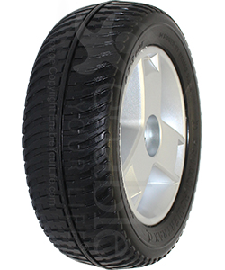 9 x 3 in. Pride Drive Wheel Assembly For The Go-Go Elite Traveller Plus and Go-Go Sport - Angled view shown