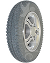 14 x 3 in (3.00-8) Pride Drive Wheel for Quantum R4000/R4400, 6000Z, 600 Series, Others - Angled view shown