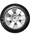 9 x 3 in. Primo Drive Wheel For The Jazzy Select Elite and Jazzy Sport - front view shown