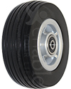 5 x 1 3/4 in. Jazzy Sport and Jazzy Elite 6 Front Replacement Wheelchair Caster Wheel - Angled view shown