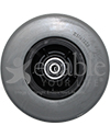 6 x 2 in. Quantum 6000Z, Quantum 6400Z, Q6 Edge Replacement Wheelchair Caster Wheel - Front view shown