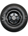 8 x 2 in. (200 x 50) Replacement Caster Wheel for the Jazzy Select HD - Front view shown for models ending in C30