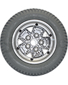 14 x 3 in (3.00-8) Pride Drive Wheel for Quantum Q6 Edge HD - Back view shown
