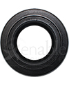 6 x 2 in. (150 x-50) Primo Multi-Rib Urethane Wheelchair Tire in Black - Front view shown