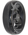 5 x 1 1/2 in. Primo Hollow Spoke Wheelchair Caster Wheel with Soft Urethane Tire - Angled view shown