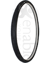 24 x 1 in. (25-540) Schwalbe One HS462A Wheelchair Tire - Angled view shown