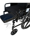 Multi-Axis Amputee Stump Support for Wheelchairs (Therafin)- 7 x 10 support mounted to a manual wheelchair