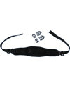 Wheelchair Chest Strap (Therafin TheraFit Padded) - 2 buckle model shown