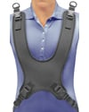 Therafin Wheelchair Butterfly Chest Harness Dynamic Comfort Fit - Shown in-use