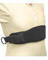 Wheelchair Chest Strap (Therafin TheraFit Padded) - 1 buckle model shown in use