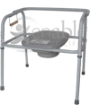 GRAND Line® Extra Large Steel Commode with 700 lb Capacity